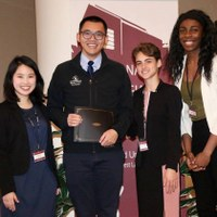 Research by Brian Lee, an honors undergraduate in Economics, recognized at the Harvard National Collegiate Research Conference